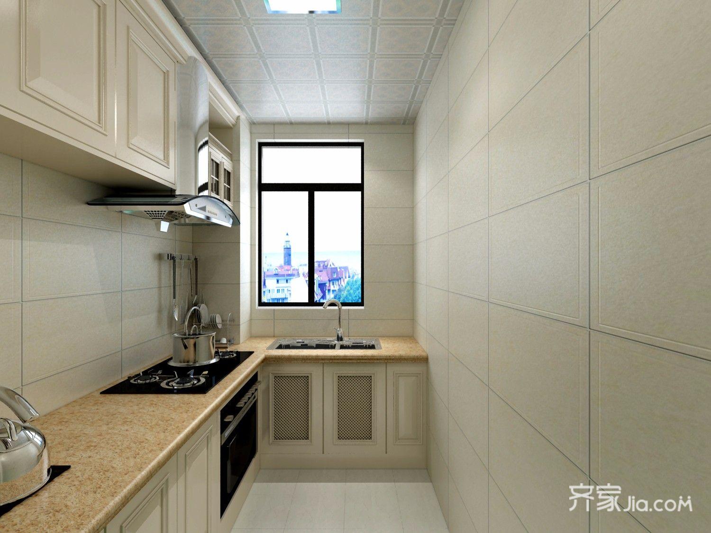 118平现代风三居厨房装修效果图