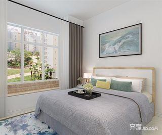 50平简约风格一居卧室装修效果图