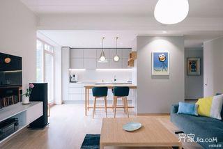极简风格三居室厨房装修效果图