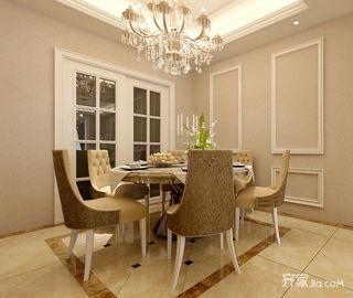 欧式风格两居室餐厅装修效果图