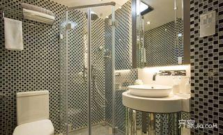 75㎡现代风格二居卫生间装修效果图