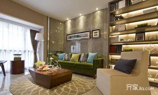 75㎡现代风格二居客厅装修效果图