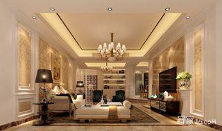 178平欧式风格三居装修效果图