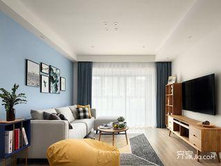 130平北欧风三居客厅装修效果图
