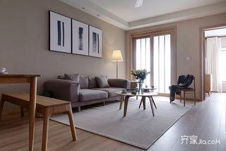 88平北欧风格两居装修效果图