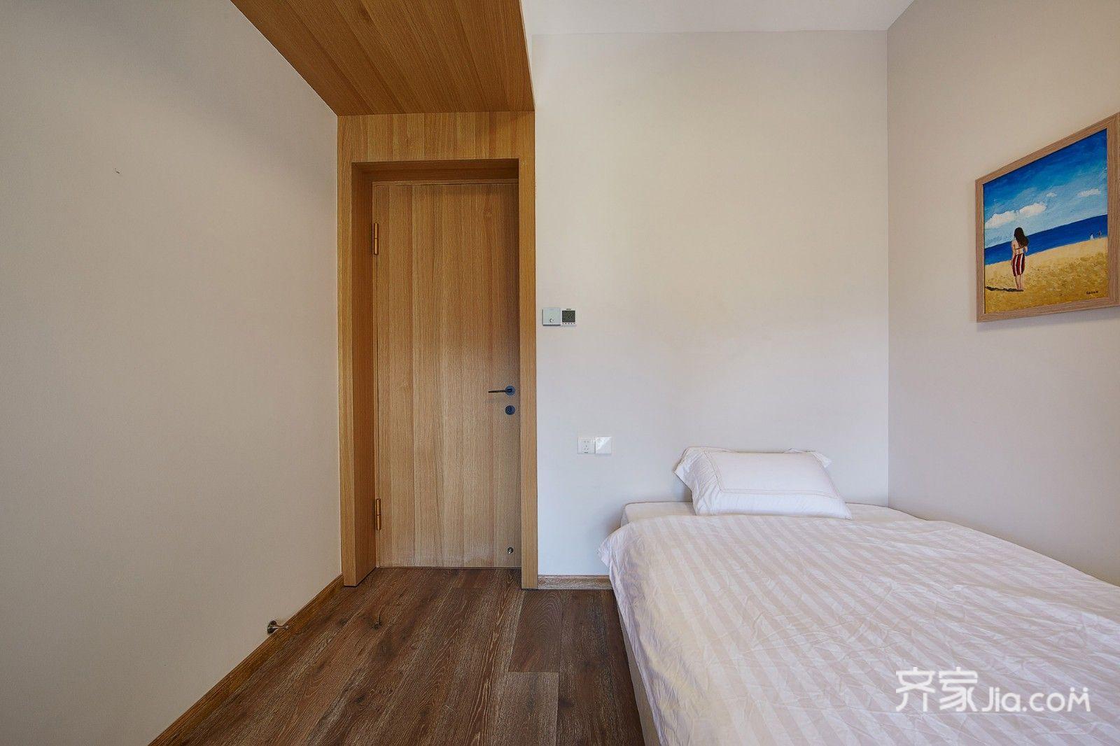 现代简约风格四居室装修卧室布置图