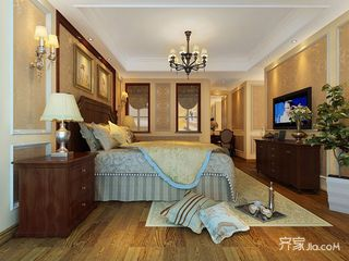 大户型美式四居室装修效果图