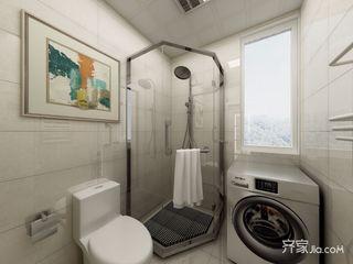 118㎡现代简约三居卫生间装修效果图