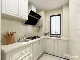 88㎡简欧风格两居厨房装修效果图