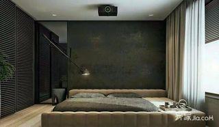 现代工业风格两居卧室装修效果图