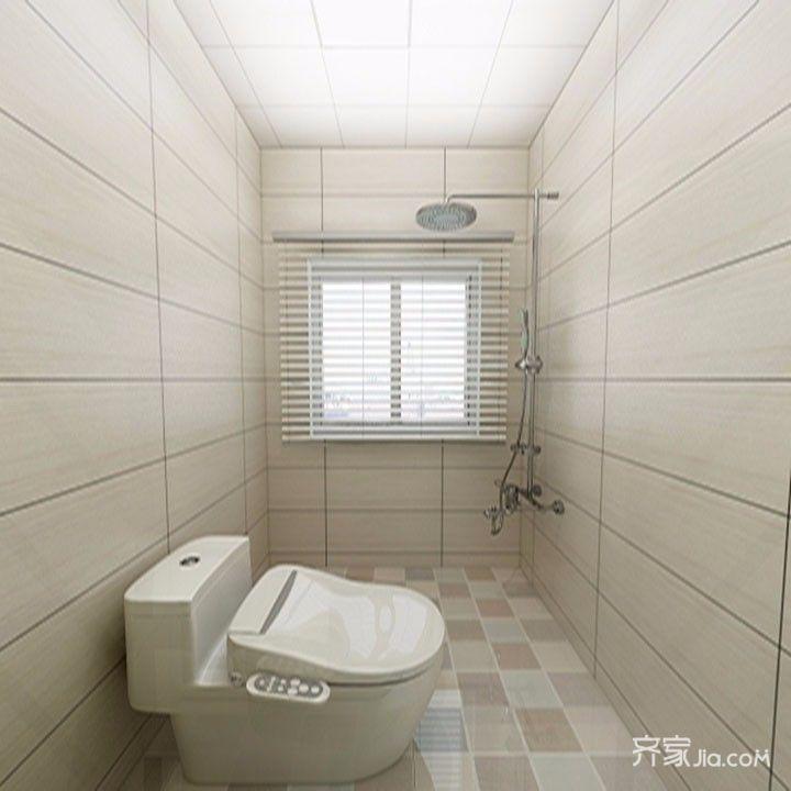 小户型现代简约风格卫生间装修效果图
