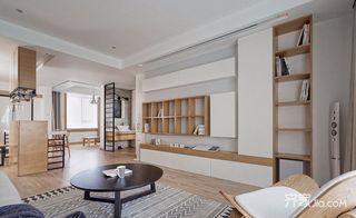 110平日式风格二居客厅装修效果图