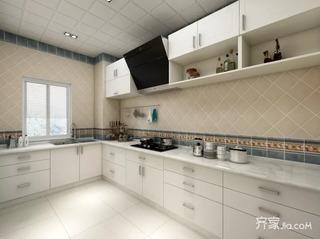 130平简约两居室装修效果图