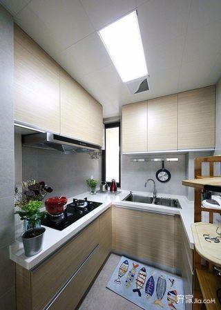 80平简约风格两居厨房装修设计图