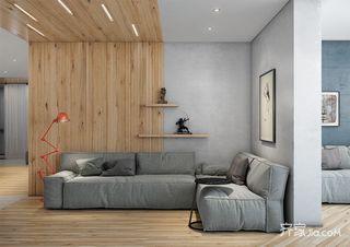 北欧工业风公寓装修设计效果图