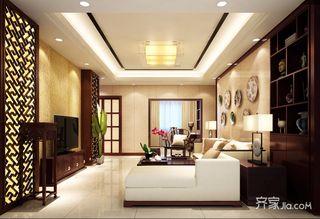 138平中式风格四居装修效果图