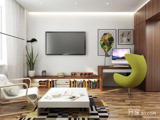 小户型一居公寓客厅装修效果图