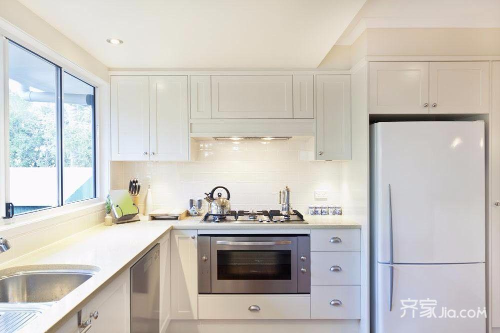 120平米简约现代厨房装修效果图