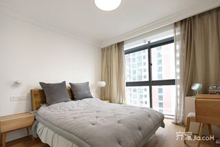 98平日式风格三居卧室装修效果图
