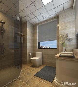 170平米美式风格卫生间装修效果图