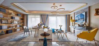 现代时尚轻奢三居室装修效果图