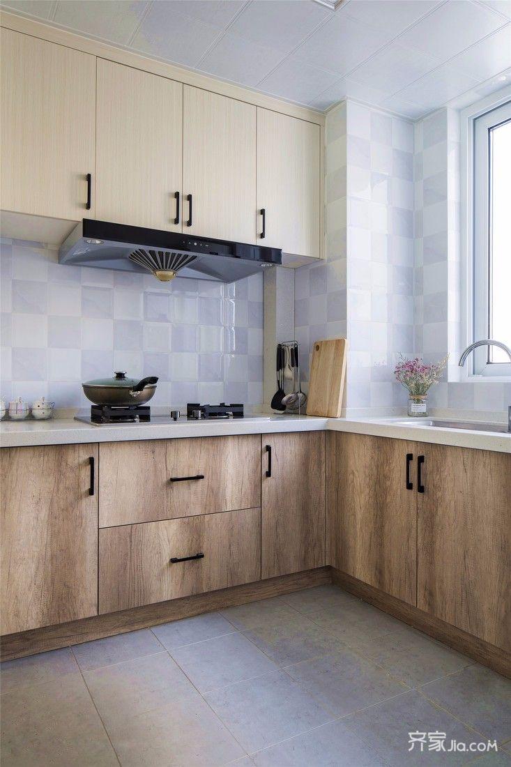 简约北欧三居厨房装修设计图