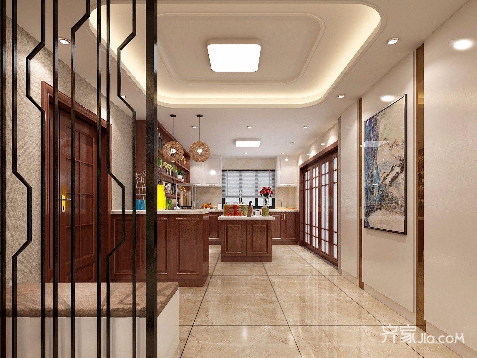 新古典风格四居室厨房装修效果图