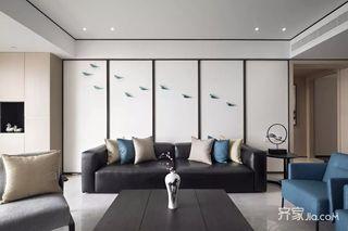 新中式风三居室装修设计效果图