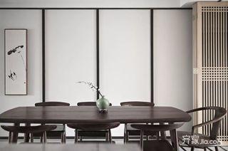 新中式风三居室餐厅装修设计效果图