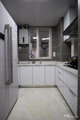 新中式风三居室厨房装修设计效果图