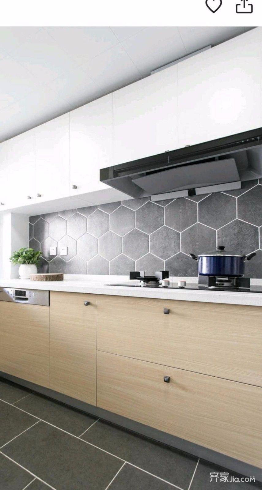 北欧风格两居室厨房装修搭配图