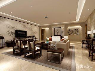 大户型新中式四居室装修效果图