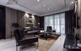 现代简约风格四居客厅装修效果图