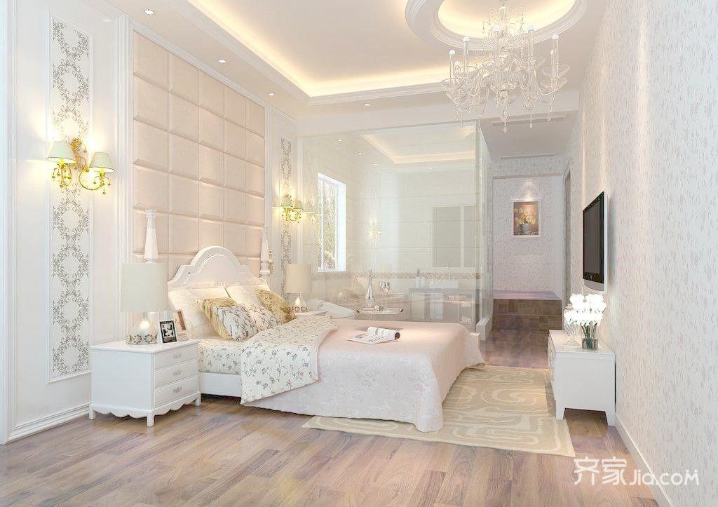 136平欧式卧室装修效果图