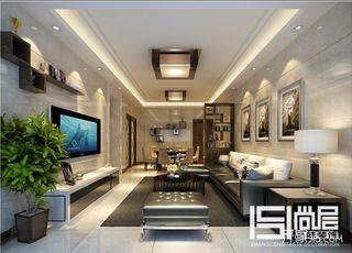 110平现代风二居装修效果图