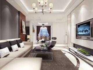 现代简约风格三居室装修设计图