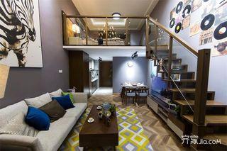60平Loft一居室装修效果图