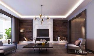 大户型简约四居室装修效果图