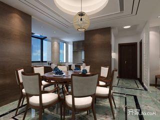 170平现代中式风格餐厅装修效果图