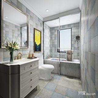 欧式别墅装修卫生间设计效果图