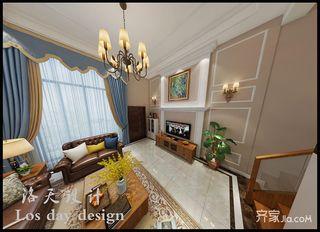 现代美式风格别墅装修效果图