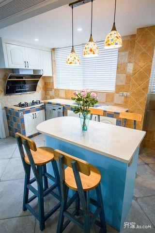 133平米地中海风格厨房装修效果图