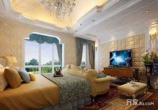 豪华欧式风格四居卧室装修效果图