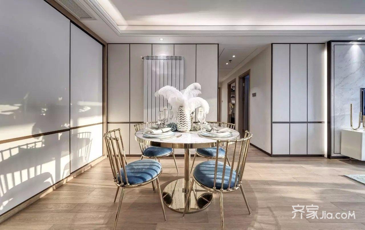 现代简约时尚二居室餐厅装修效果图