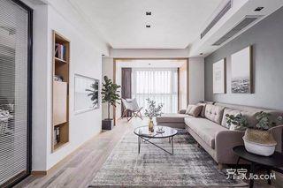 130平简约风格三居装修设计图