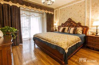 110平米欧式风格卧室装修效果图