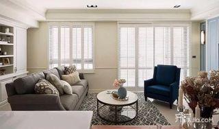 78平美式风格二居装修效果图