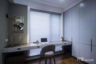 三居室现代简约风格书房装修效果图