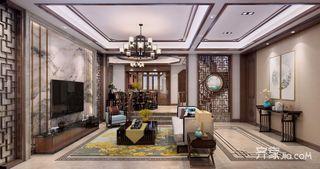 300平中式风格别墅装修效果图