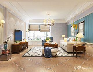 145平米三居室装修设计效果图